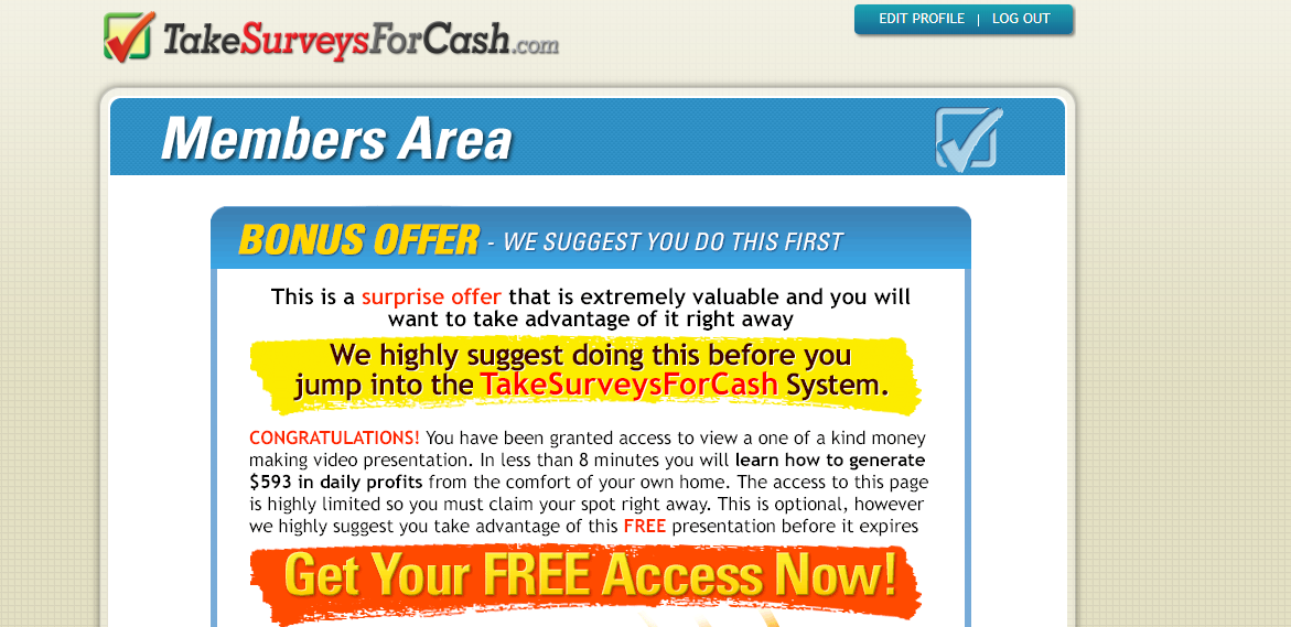 Take Surveys For Cash Review: Is Take Surveys For Cash A Scam?